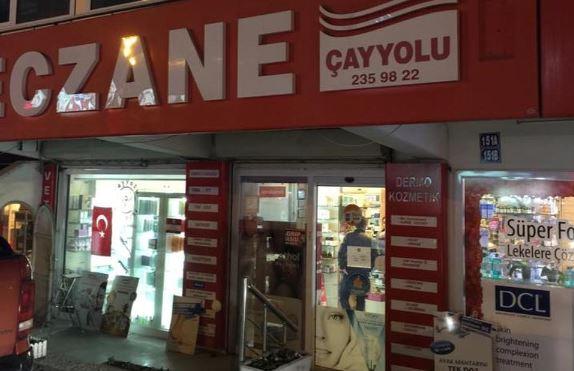 cankaya cayyolu eczanesi nerede cayyolu eczanesi telefon