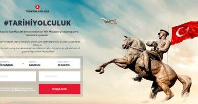 Türk Hava Yolların'dan 19 Mayıs'a Özel Uçuş