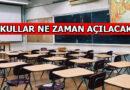 1 Mart'ta Okullar Açılacak mı
