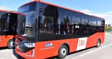 EGO'nun Yeni Aldığı 19 Otobüsü Hizmete Başladı